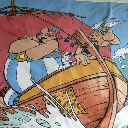 Vintage Asterix Duvet Cover