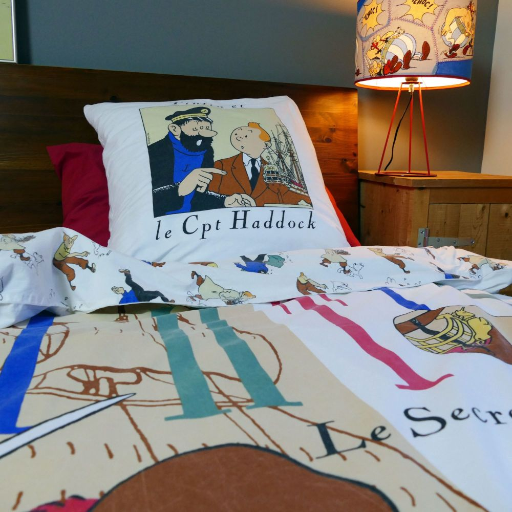 Vintage Tintin Duvet Cover - The Secret of the Unicorn