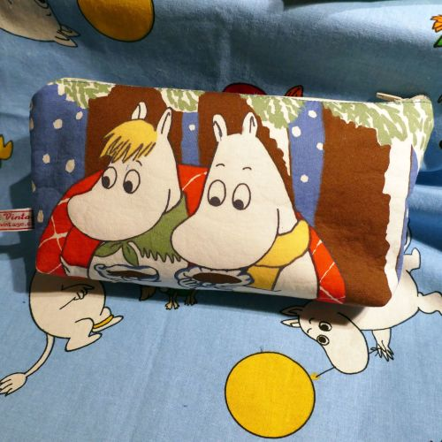 Moomin Zip Top Pouch - Picnic