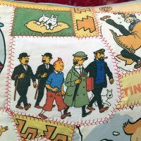 Tintin Patchwork Cushion - Aztec