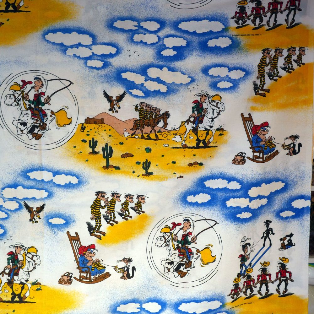 Lucky Luke Story Cotton - 125cm x 80cm