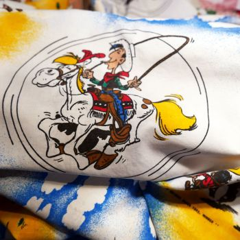 Lucky Luke Story Cotton - 85cm x 130cm
