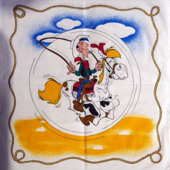 Lucky Luke Fabric Panel - 55cm x 55cm