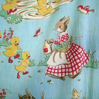 1940's Animal Print Cotton - 65cm x 65cm