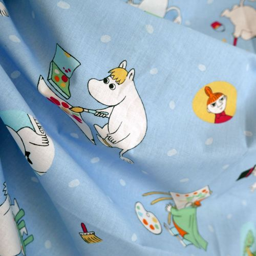 Moomins Cotton - Painting - 70cm wide