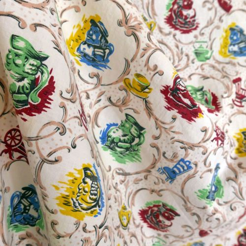 1940's Home Decor Cotton - 85cm wide
