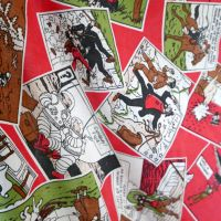 Tintin - Cartoon Fabric - 130cm wide