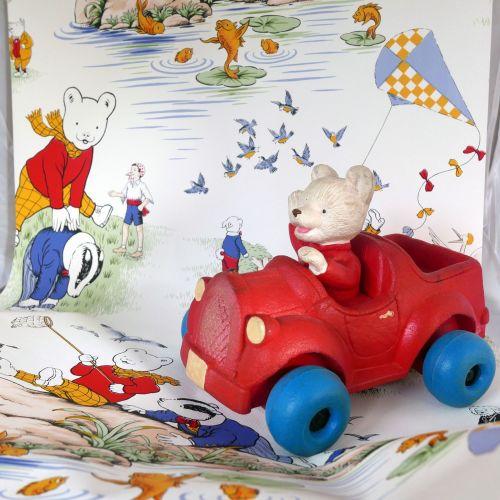 Rupert the Bear Wallpaper