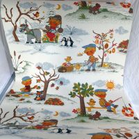 Vintage Scandi Children's Wallpaper