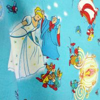 Vintage Cinderella Cotton - Disney - 105cm Wide