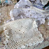 Vintage Doily Bunting - 5 Metres - String F