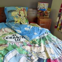 Vintage Asterix Duvet & Pillow Case Set - Single Size