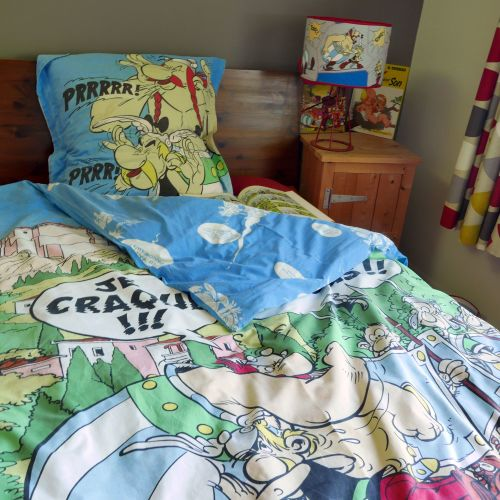 Vintage Asterix Duvet & Pillow Case Set
