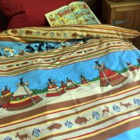 Vintage Asterix Duvet Cover - America - Single Size