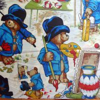 Vintage Paddington Fabric - 80cm x 45cm