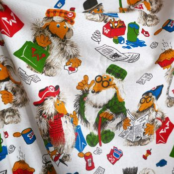 Wombles Vintage Cotton - 160cm wide