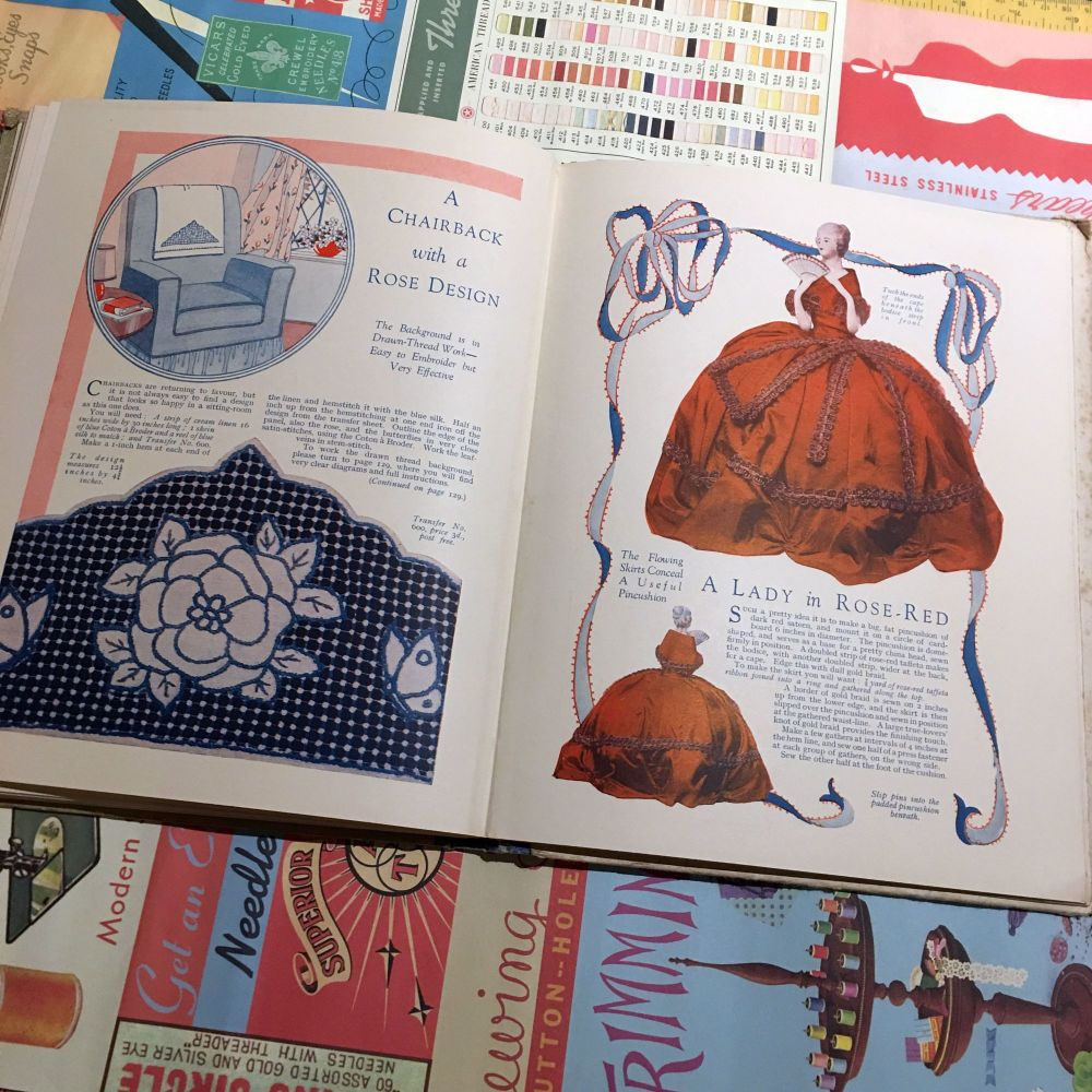 1930's The Book of Good Needlework - Book One