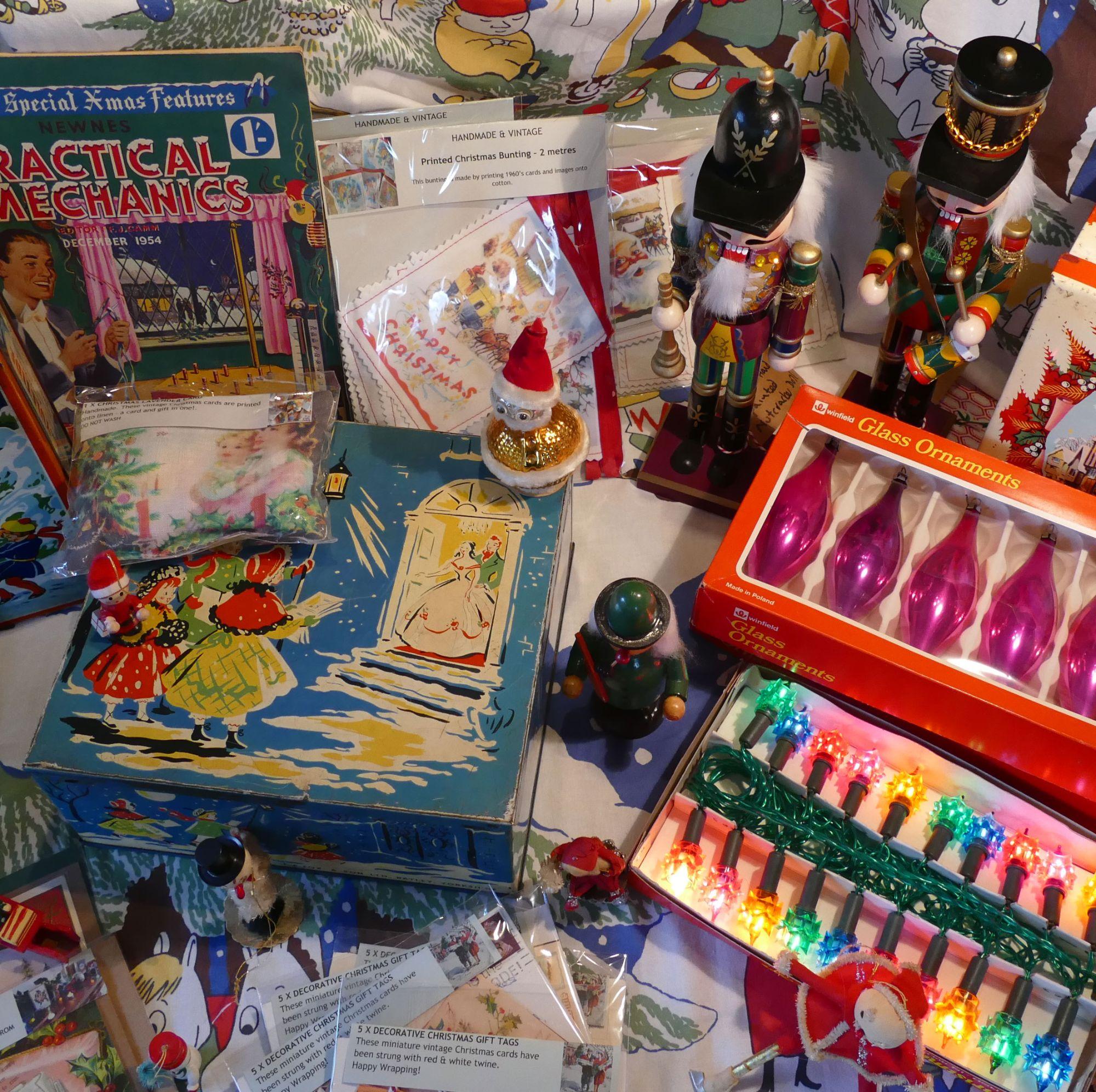 vintage christmas shop