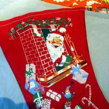 1950's Christmas Stocking