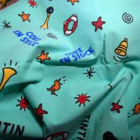 Tintin Coke en Stock Cotton - 120cm wide