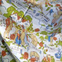 House That Jack Built Cotton - Osman Fabrics - 120cm wide