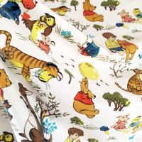 Vintage Winnie the Pooh Cotton - Fothergay - 100cm x 100cm
