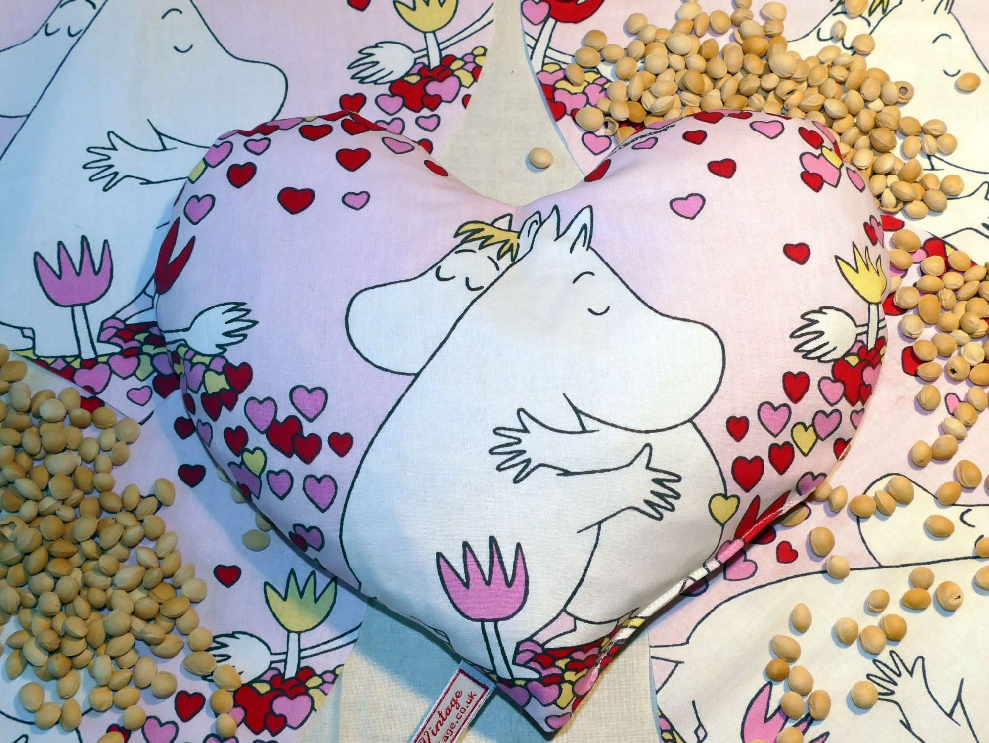 moomin thermal pillow