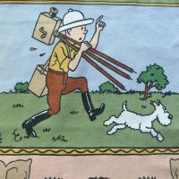 Tintin in Africa - Tintin with Camera