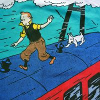 Tintin Cotton Panel - The Black Isle - Tintin Balances