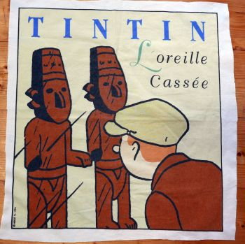 Tintin Cotton Panel - The Broken Ear