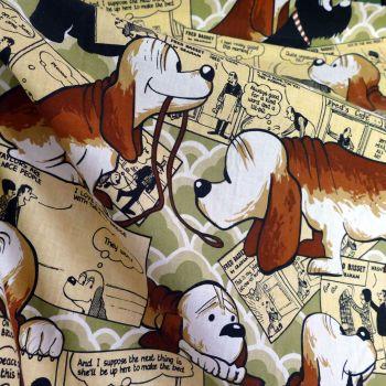 Fred Bassett Linen - Wardle Fabrics - 128cm x 130cm