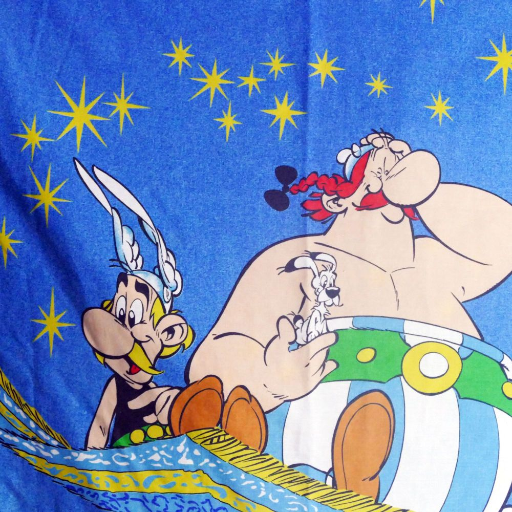Asterix & Obelix Cotton - Large Panel - 120cm x 180cm