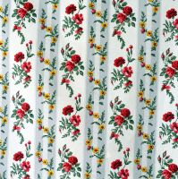 Vintage French Floral Cotton - 70cm wide