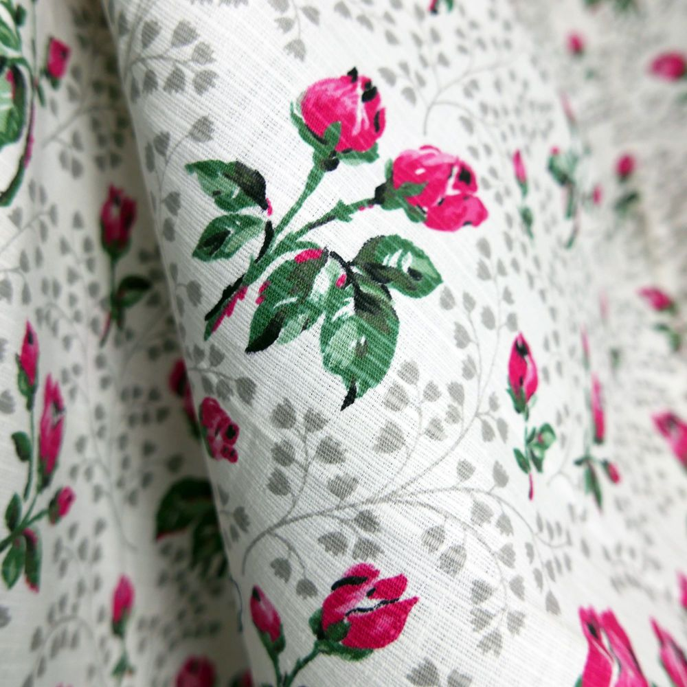 Vintage  Rose Cotton - 70cm WIde