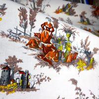 French Printed Cotton - 120cm x 55cm
