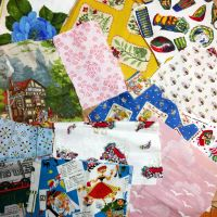 Vintage Fabric Bundles