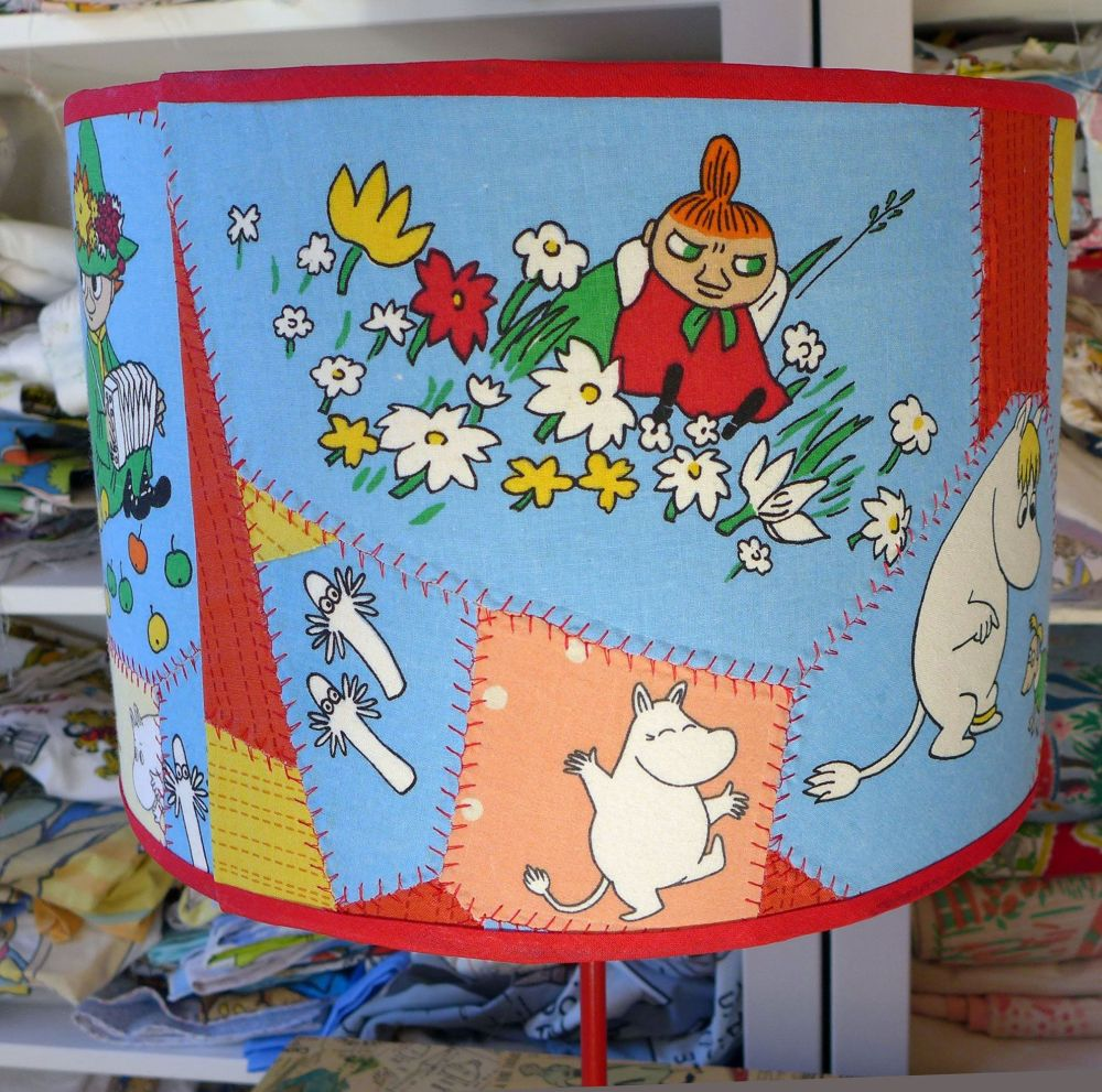 Bespoke Patchwork Moomin Lampshades