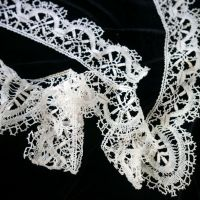 Cotton Lace Turned Border - 2.4 metres - FWT