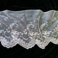Wide Vintage Lace Edging - 110cm x 22cm - VLNT