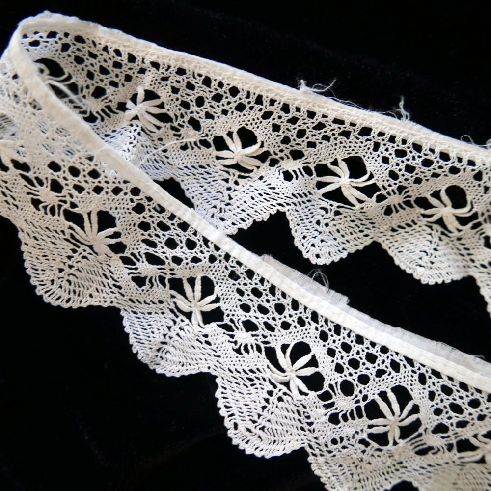 Circular Lace Trim - Cotton Lace - CLT