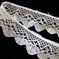 Circular Lace Trim - Cotton Lace - CLT
