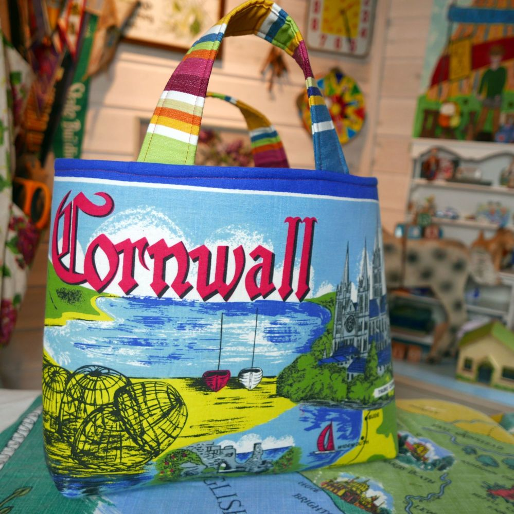 Cornwall Bag - Stuctured Tote Bag - Market Tote