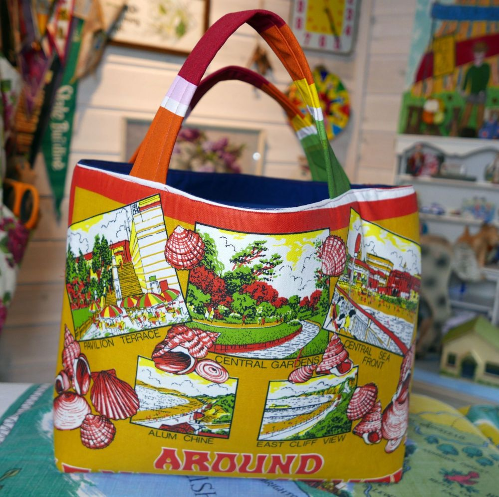 Bournemouth Bag - Stuctured Tote Bag - Market Tote