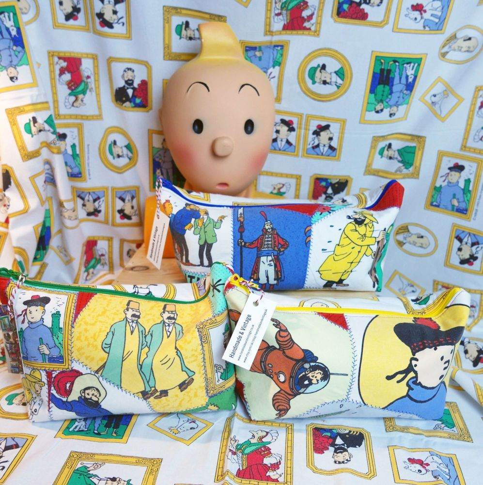 Large Zip-Top Tintin Bags