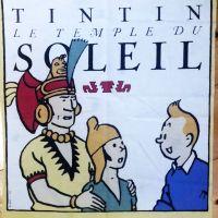 Tintin - Prisoners of the Sun Panel - 55cm x 42cm