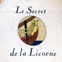 Tintin - Secret of the Unicorn Panel - 55cm x 55cm
