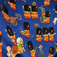 Freida Clowes Pop Parade Vintage Barkcloth - 110cm  x 130cm