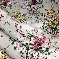 Mid Century Fabric - 1950's - Blossom Tree - 114cm wide