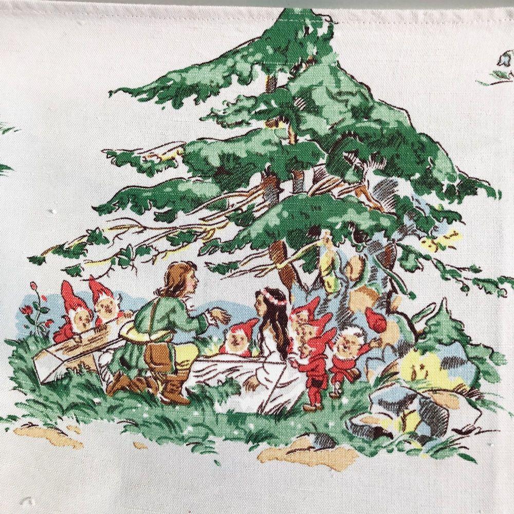 1930's Fairytal Fabric - 88cm x 40cm