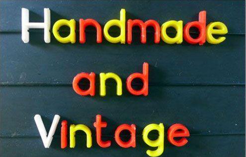 handmade and vintage logo